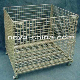 Penyimpanan Metal Mesh Box Wire Cage